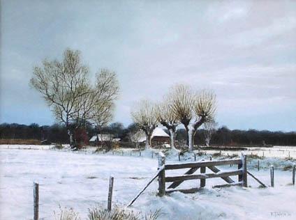 Laatste week Martin Sijbesma  in Museum Schoonewelle - Ontmoet de kunstenaar